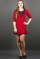 Платье Кураж (бордовый), фото 1