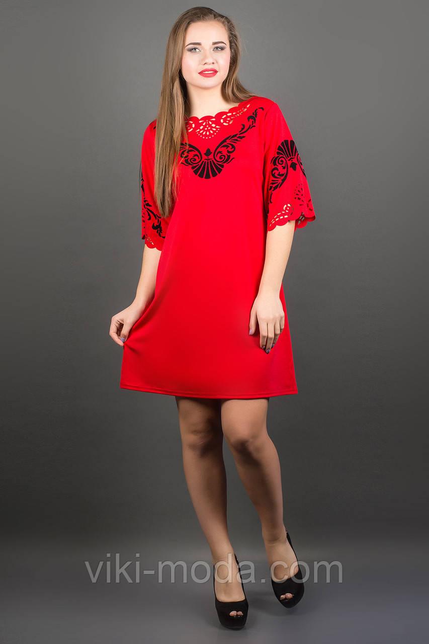 Платье Юлия (красный)