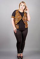 Кофта Верджини (леопард), фото 1