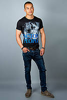 Мужская футболка (черная №21)
