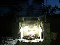 Барбекю садовая из гранита, фото 1