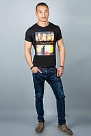Мужская футболка (черная №29), фото 1