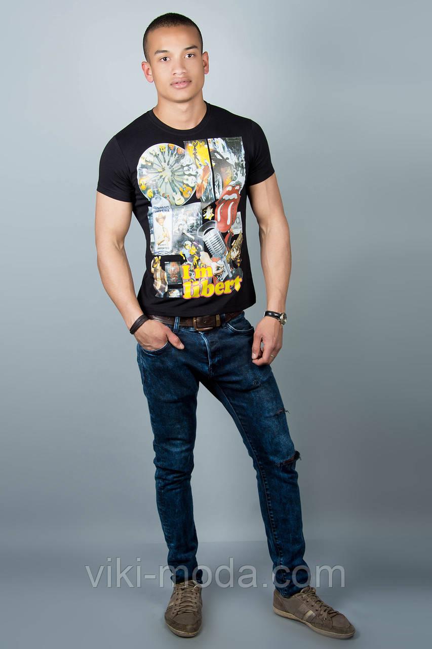 Мужская футболка (черная №31)
