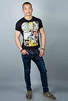 Мужская футболка (черная №31), фото 1