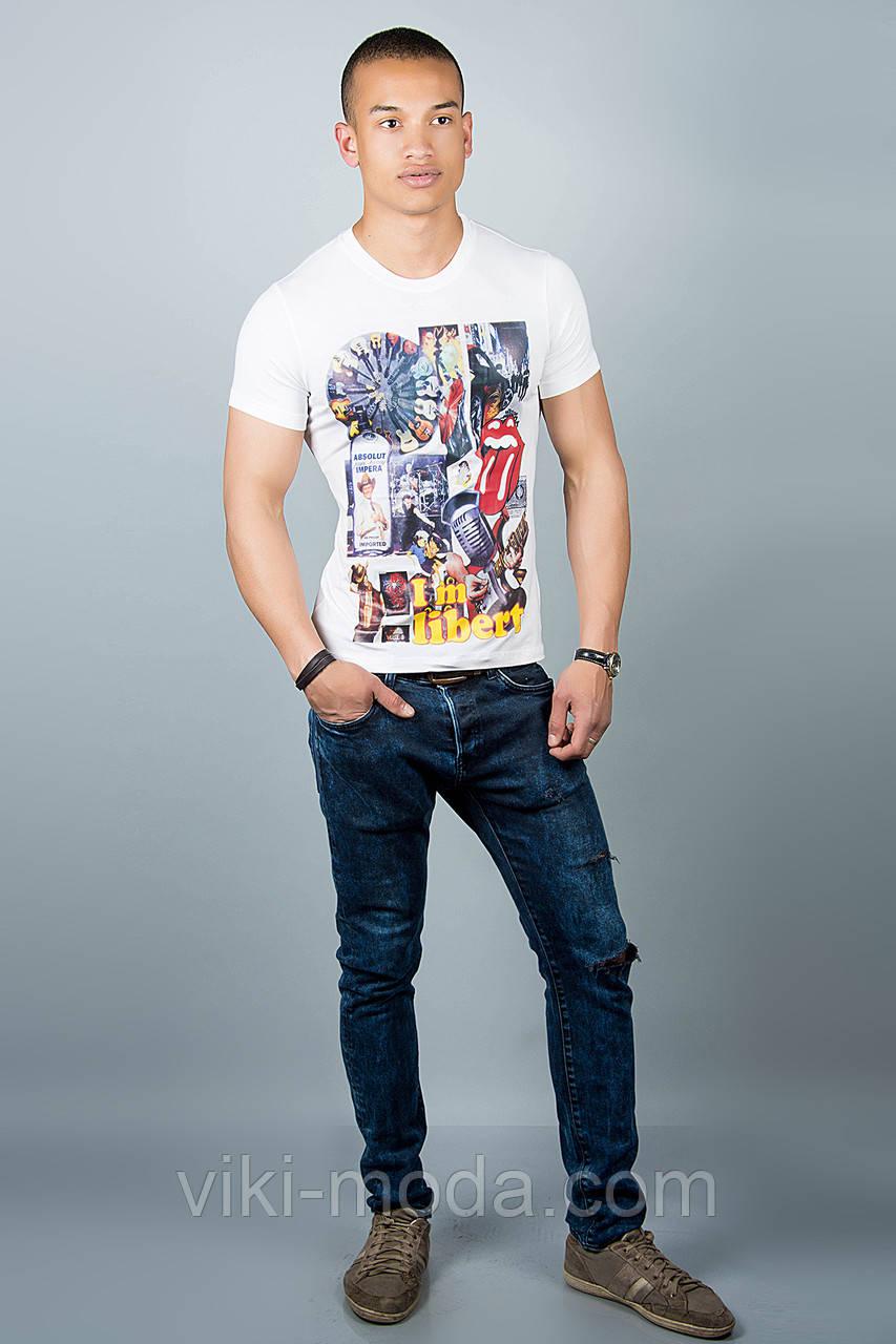 Мужская футболка (белая №30)