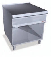 Стол нейтральный с полкой на закр. базе Bertos SN9-8M+S+S2P400