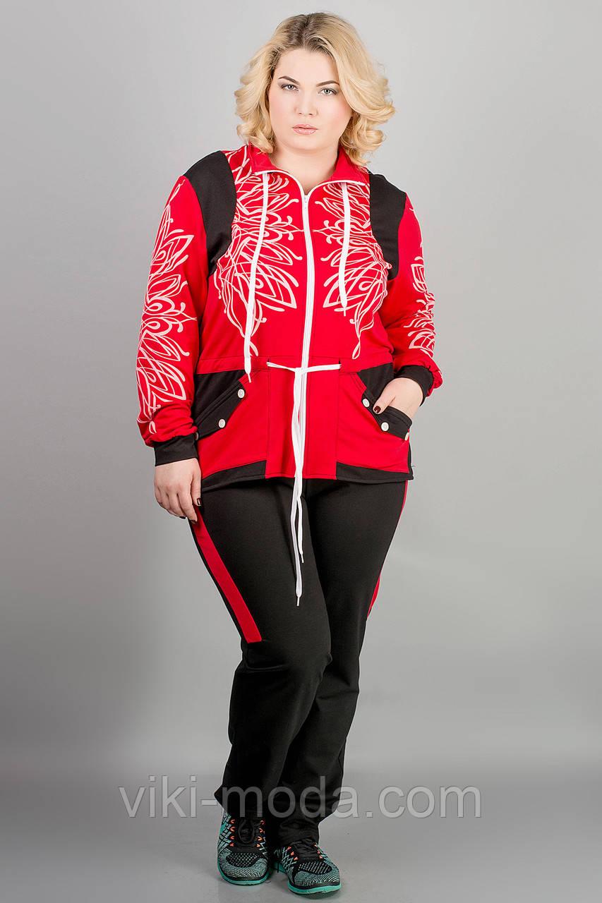 Спортивный костюм Марго (красный)