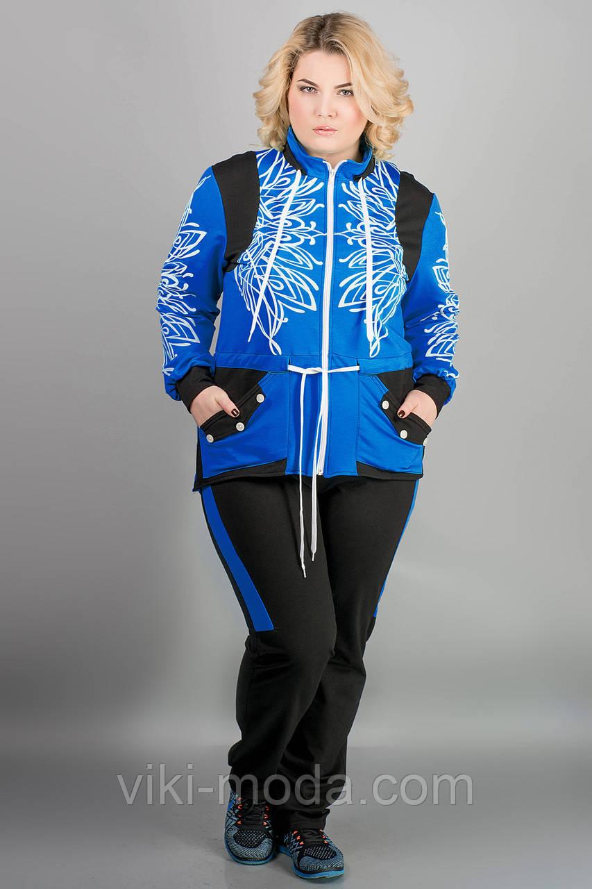 Спортивный костюм Марго (электрик)