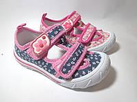 Детские летние мокасины для девочки арт 1610 (26-31)