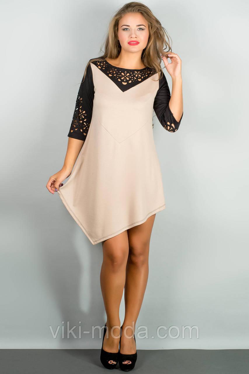 Платье Эсмина (бежевый)