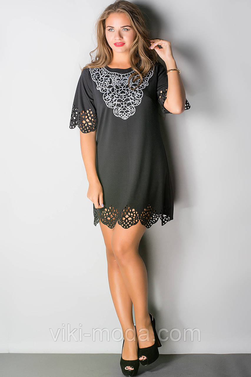 Платье Шедевр (черный)