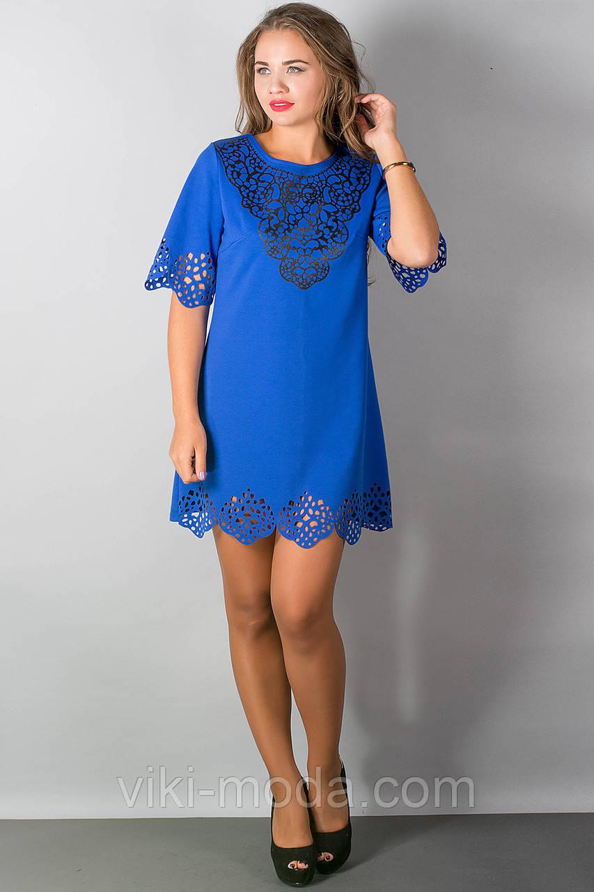 Платье Шедевр (электрик)