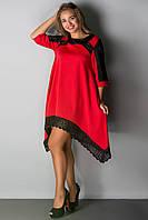 Платье Вайти (красный)