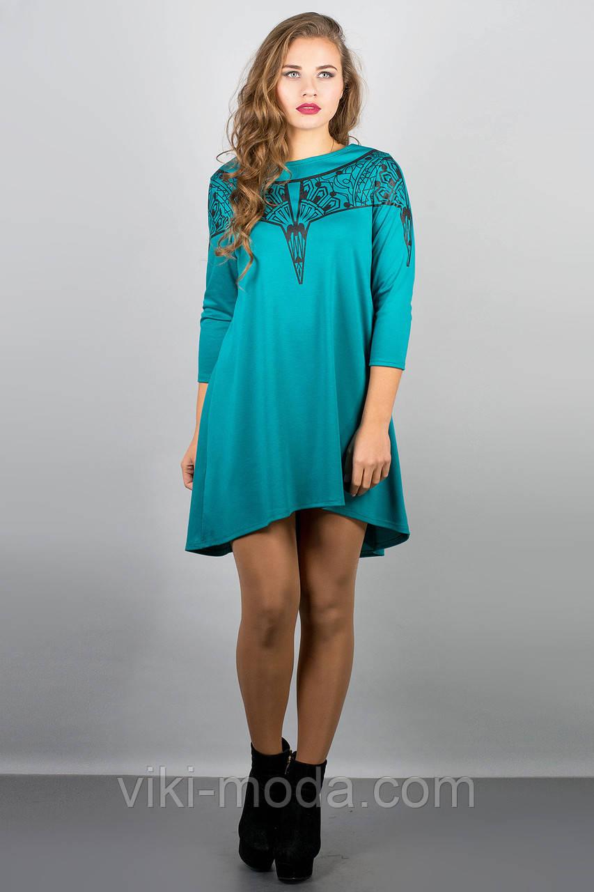 Платье Мэри-эль (бирюза)