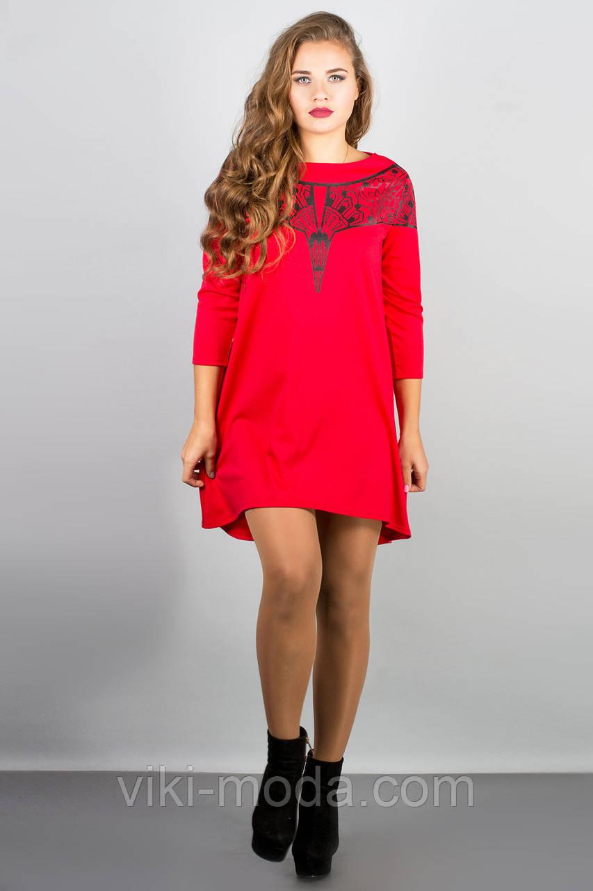 Платье Мэри-эль (красный)