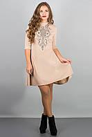 Платье Француаза (бежевый)