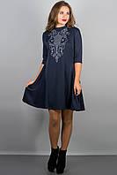 Платье Француаза (синий)