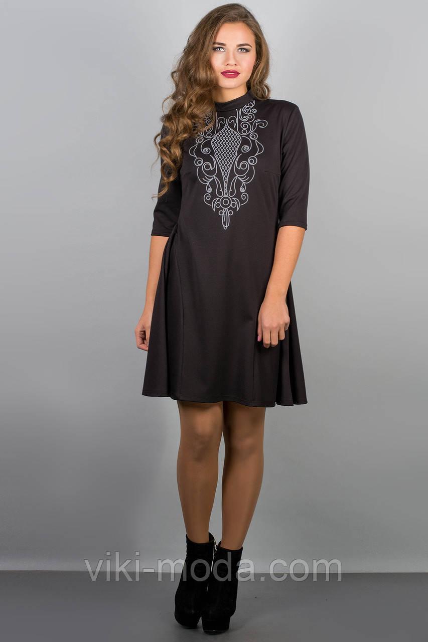 Платье Француаза (черный)