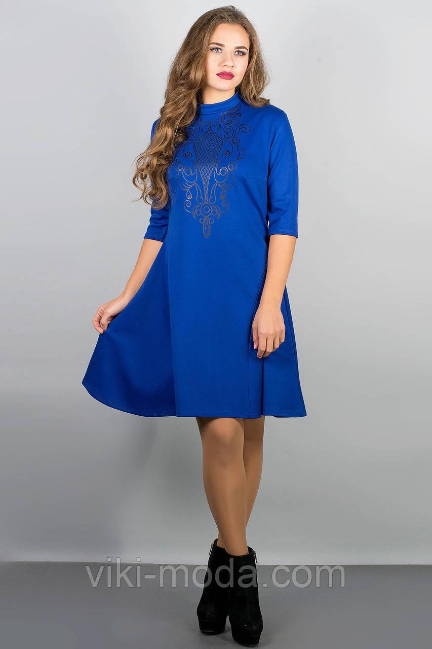 Платье Француаза (электрик)