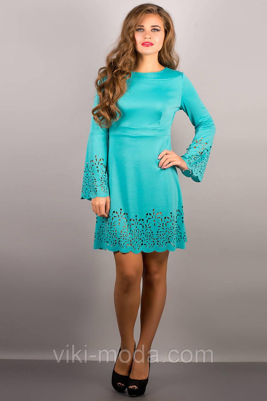 Платье Мальдива (бирюза)