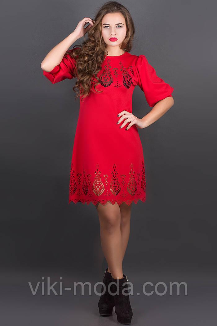 Платье Айсель (красный), фото 1