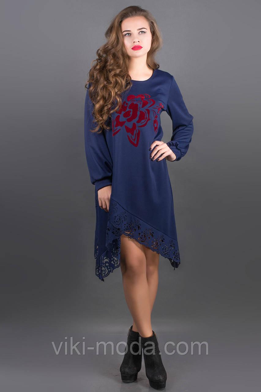 Платье Бланк (синий)