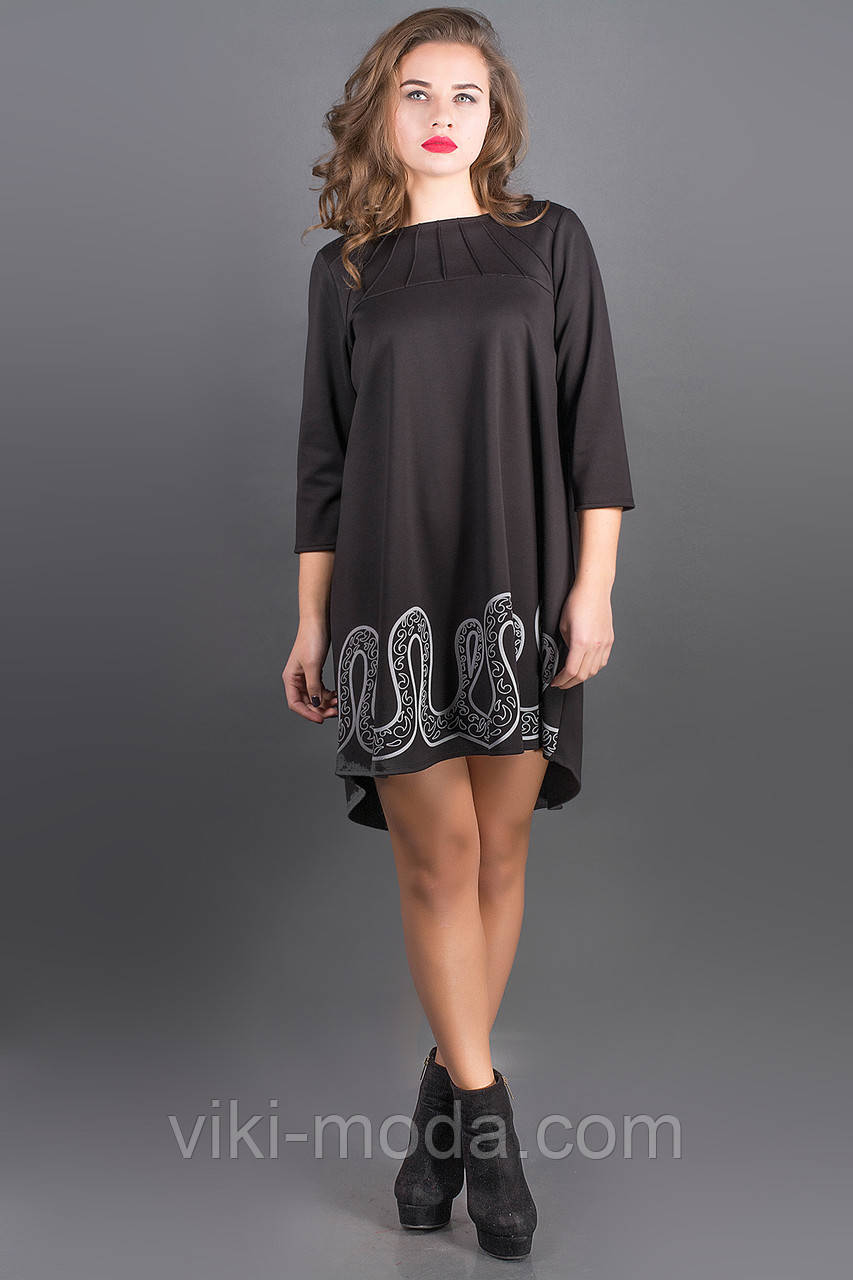 Платье Гретти (черный)