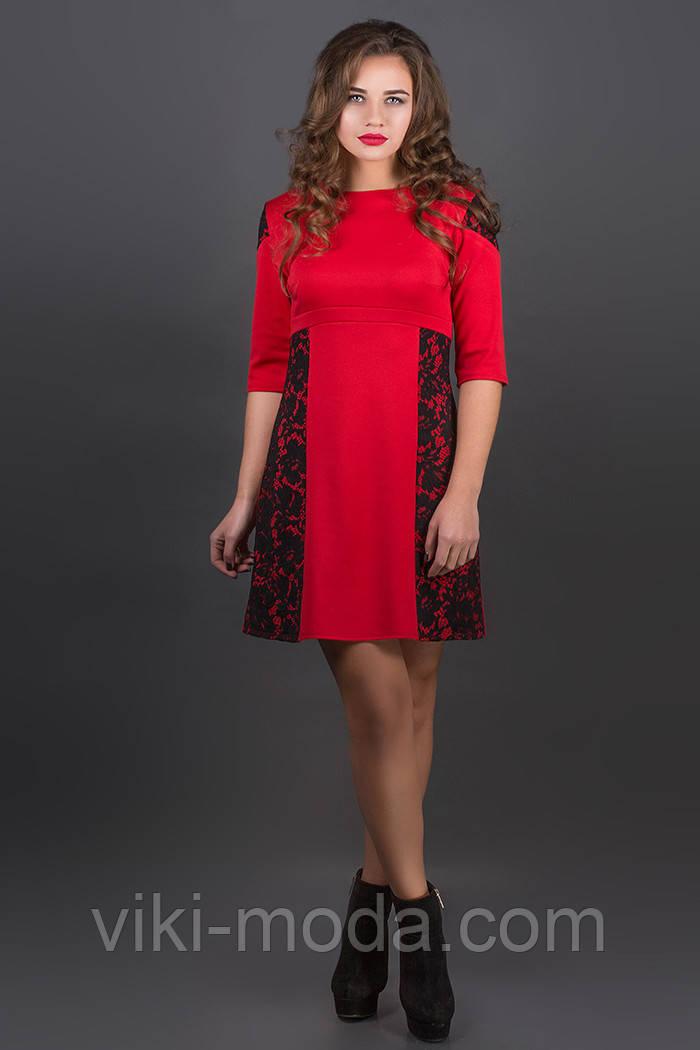 Платье Оника (красный)