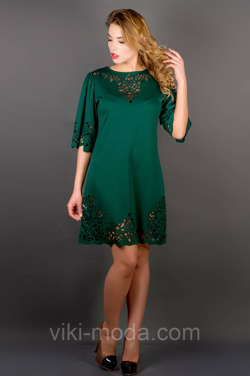 Платье Валенсия (зеленый)