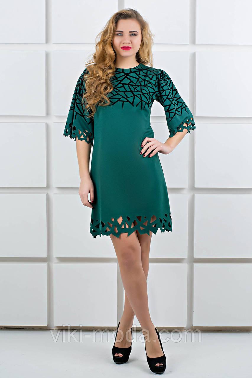 Платье Мэйби (зеленый), фото 1