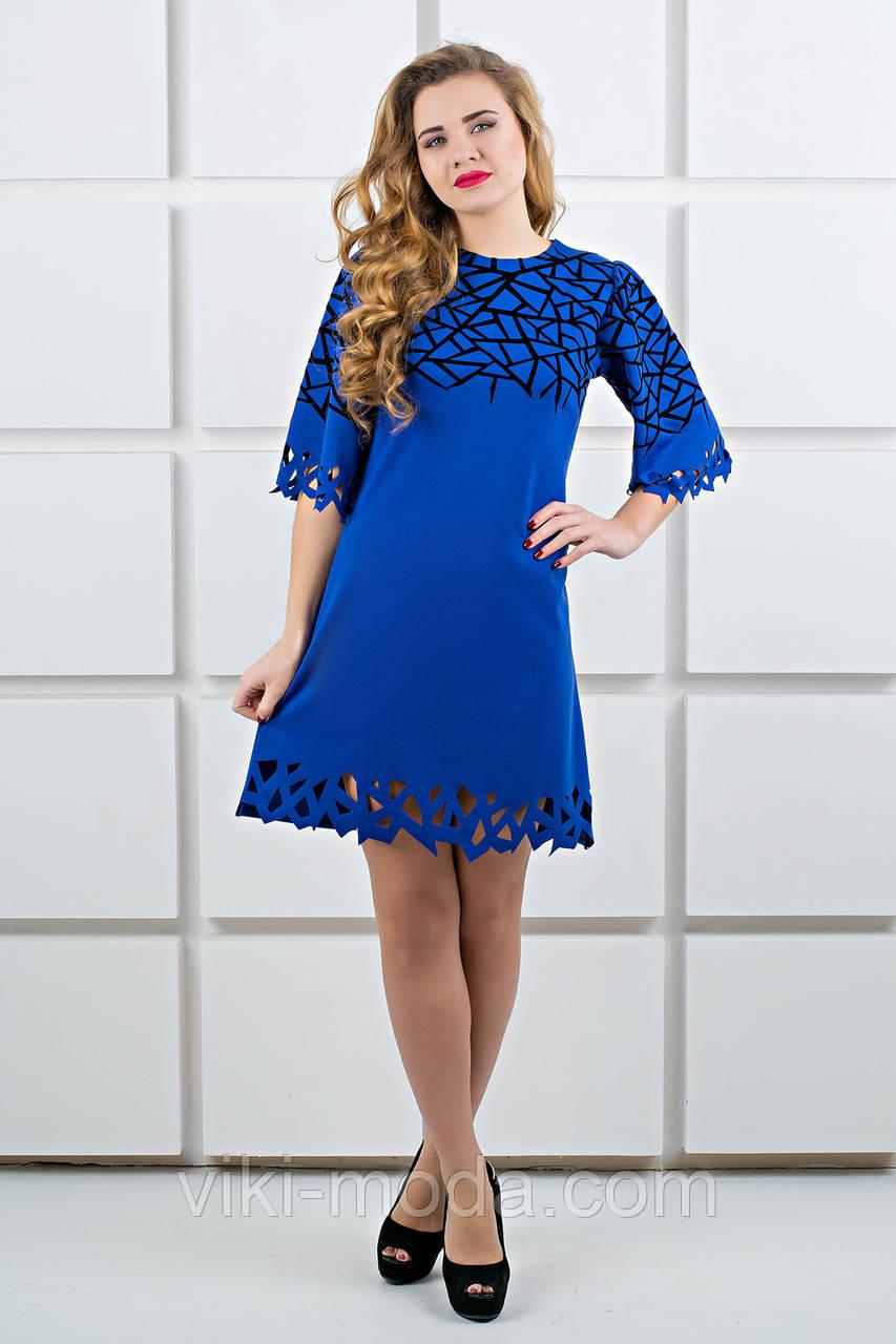 Платье Мэйби (электрик)