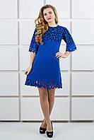Платье Мэйби (электрик), фото 1