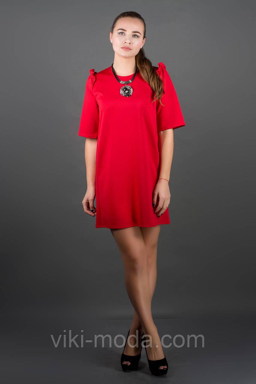 Платье Блуми (красный)