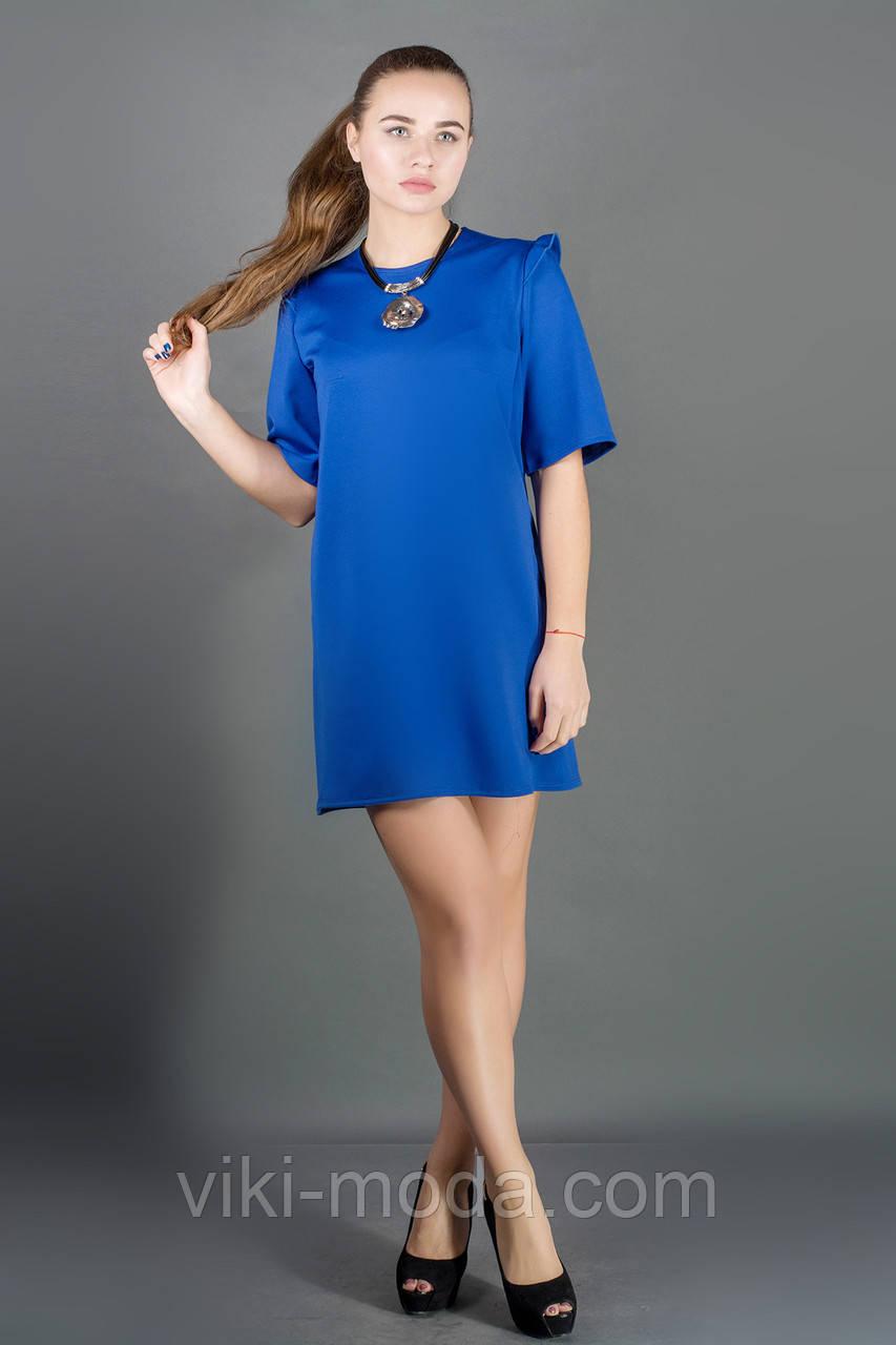 Платье Блуми (электрик)