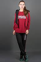 Спортивный костюм Арти (бордовый), фото 1