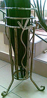 Подставка для  зонтиков кованая