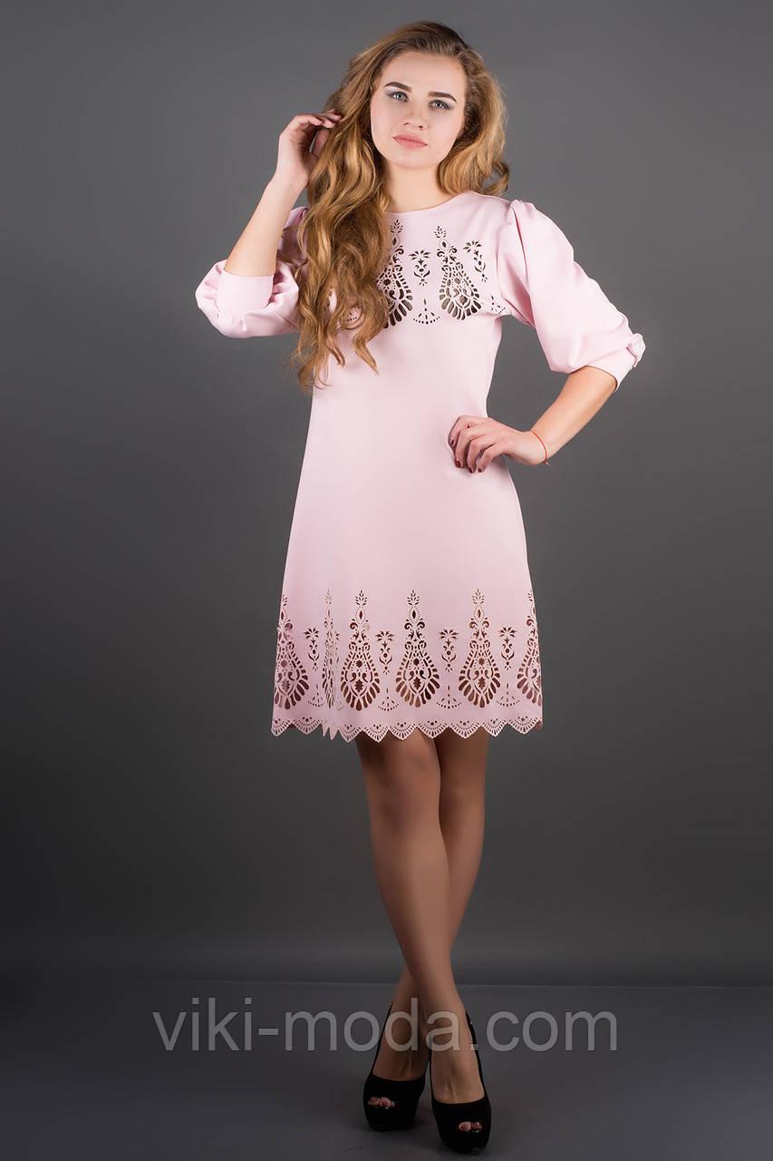 Платье Айсель (розовый)
