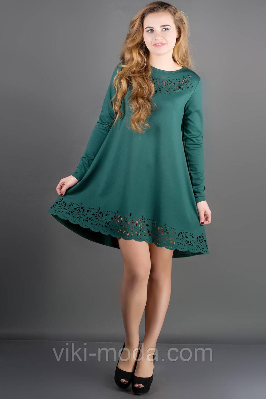 Платье Лучия (зеленый)