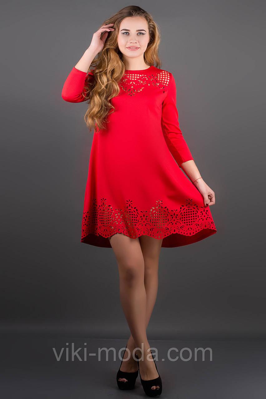 Платье Летисия (красный)