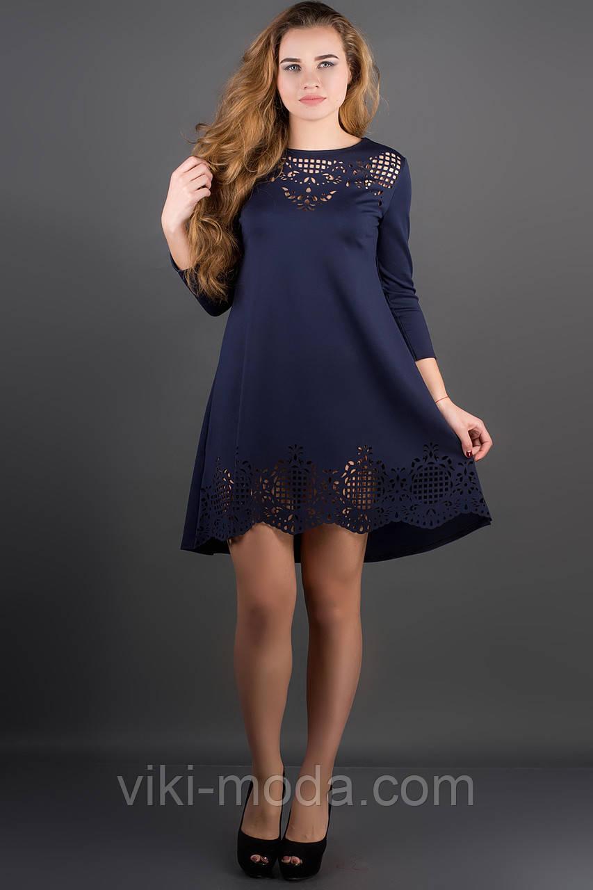 Платье Летисия (синий)