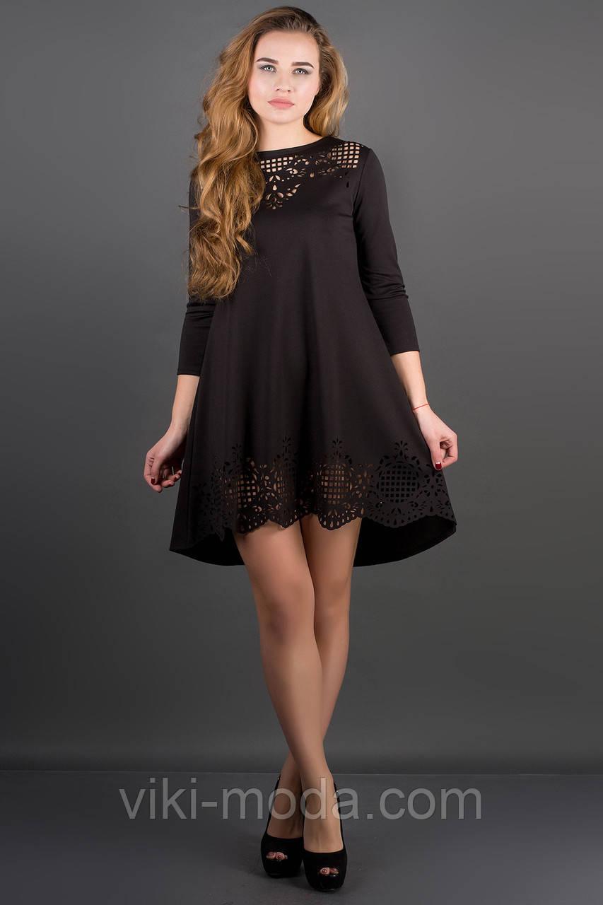 Платье Летисия (черный), фото 1