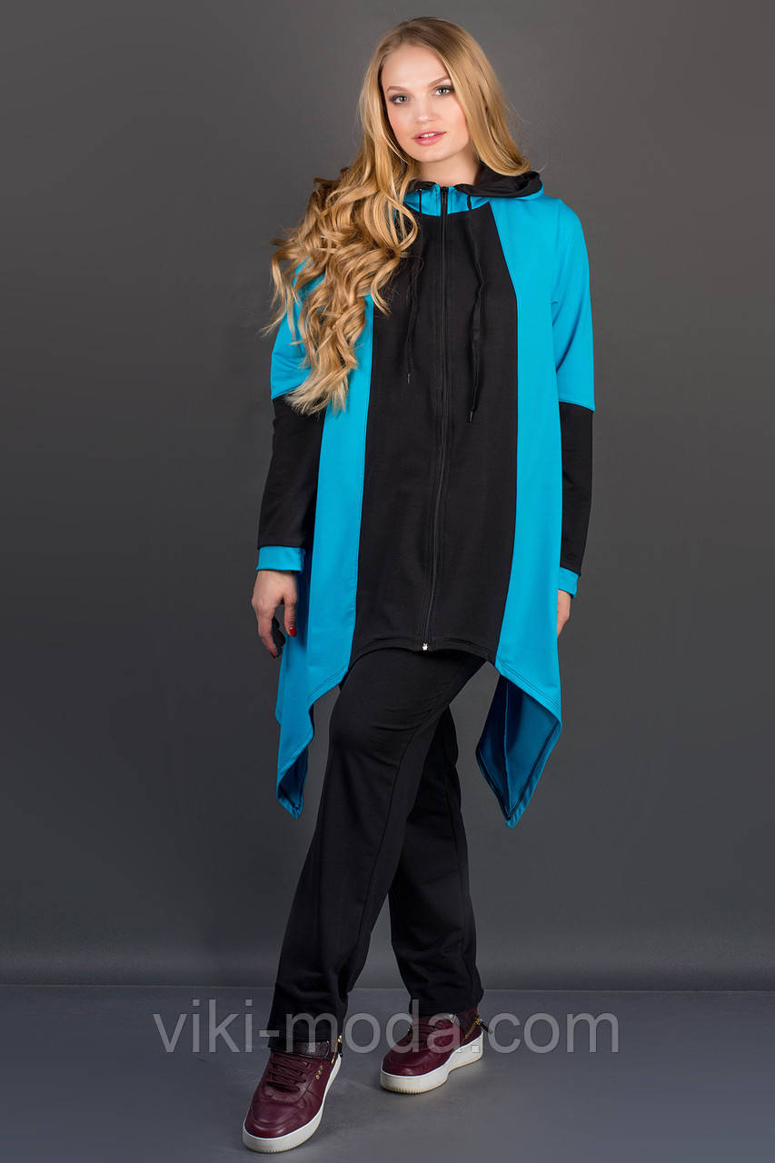 Спортивный костюм Бионика (бирюза)