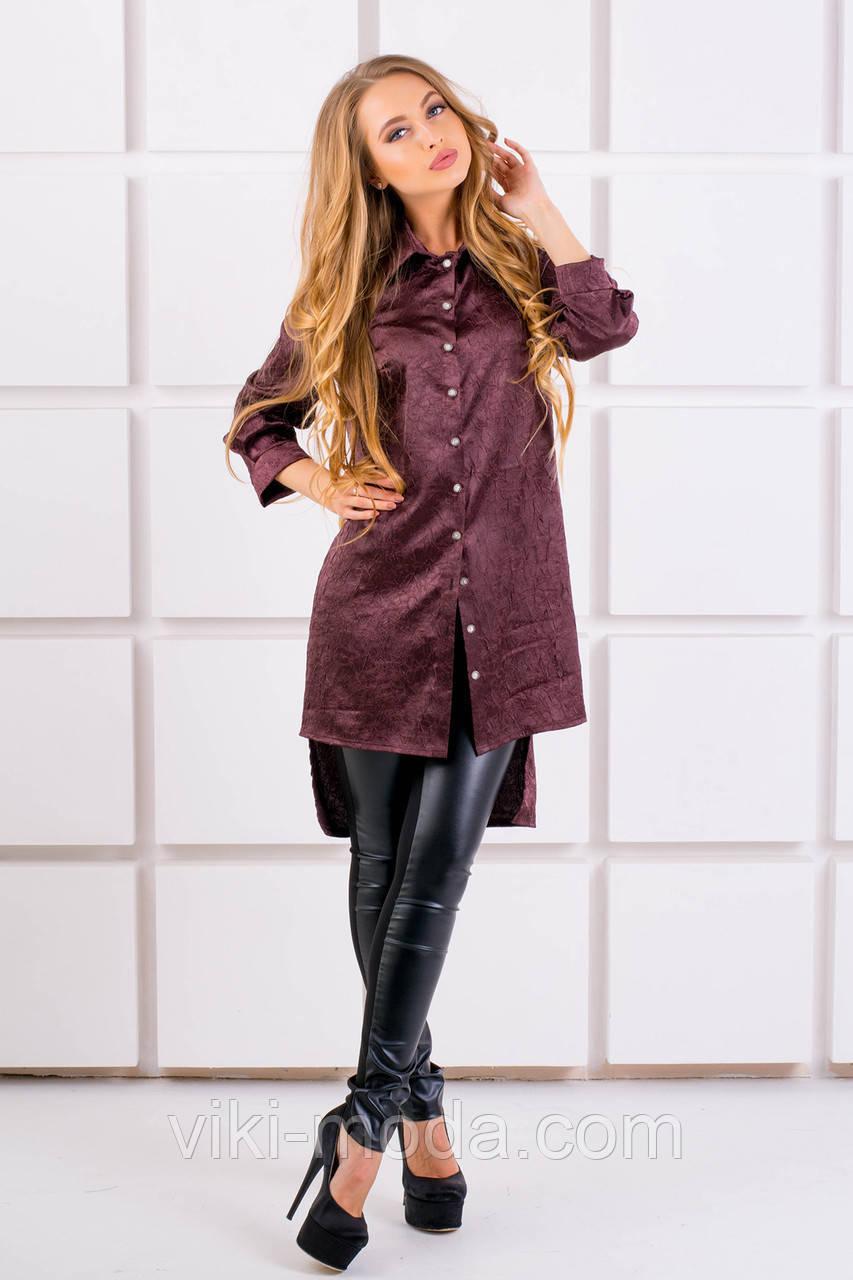 Рубашка Авива (коричневый)