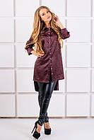 Рубашка Авива (коричневый), фото 1
