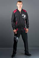 Чоловічий спортивний костюм Мітчел (бордовий), фото 1