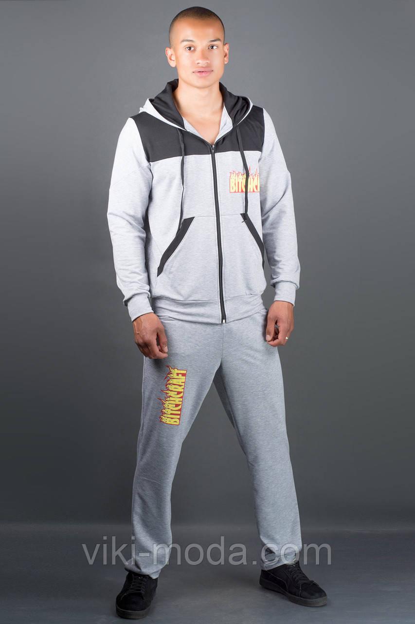 Мужской спортивный костюм Сэм (серый)