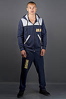 Мужской спортивный костюм Сэм (синий), фото 1