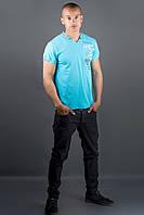 Мужская футболка Грэт (голубой), фото 1