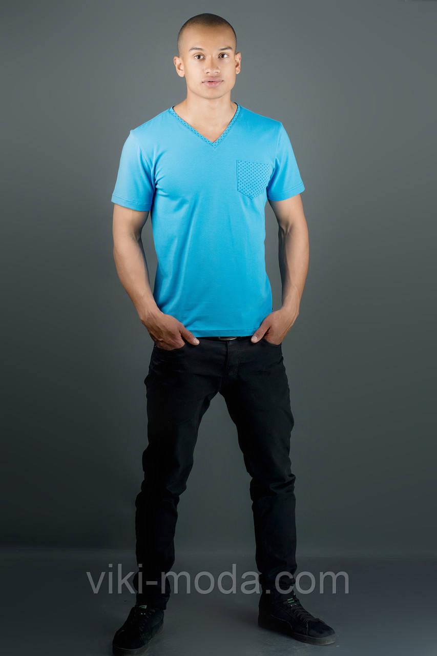Мужская футболка Жерар (морская волна)