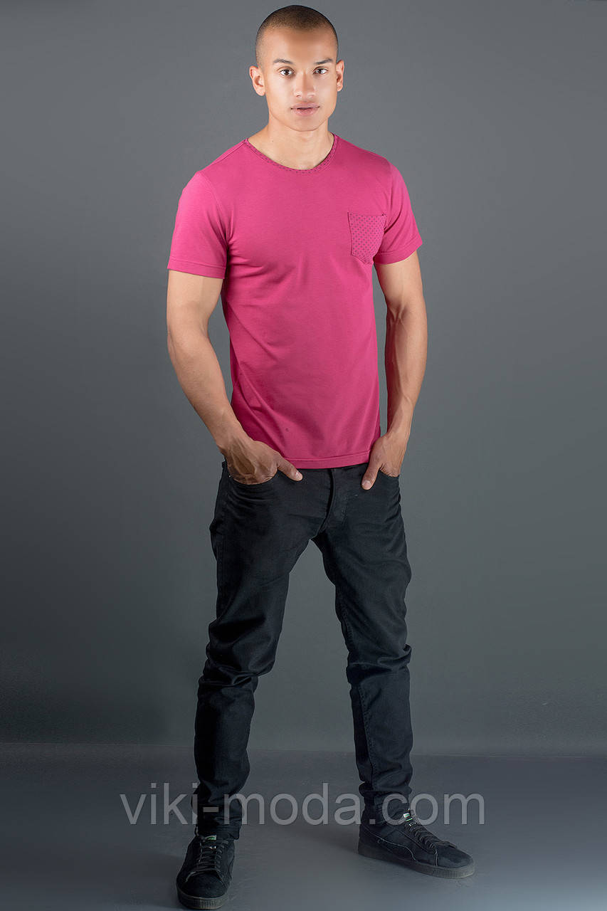 Мужская футболка Жерар 2 (бордовый)